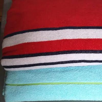 Beach towels,