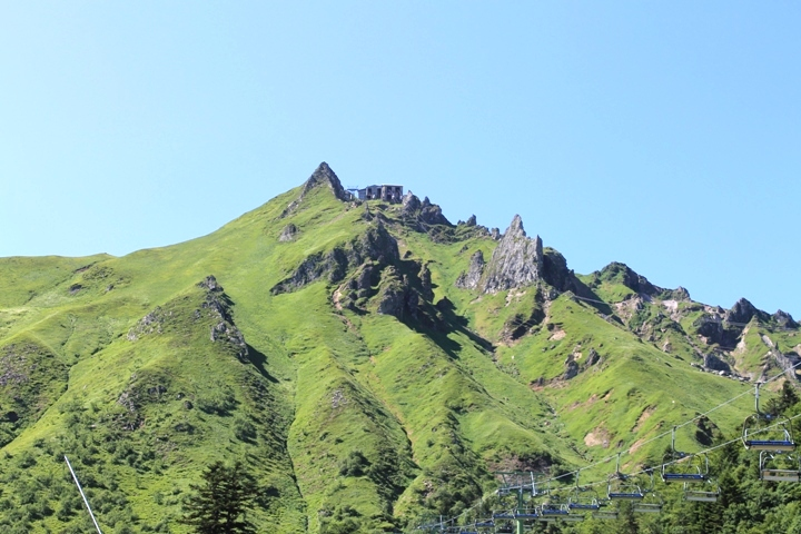 Al piede del Sancy
