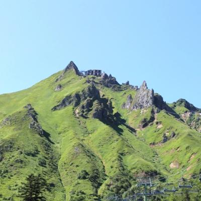 Au pied du Sancy